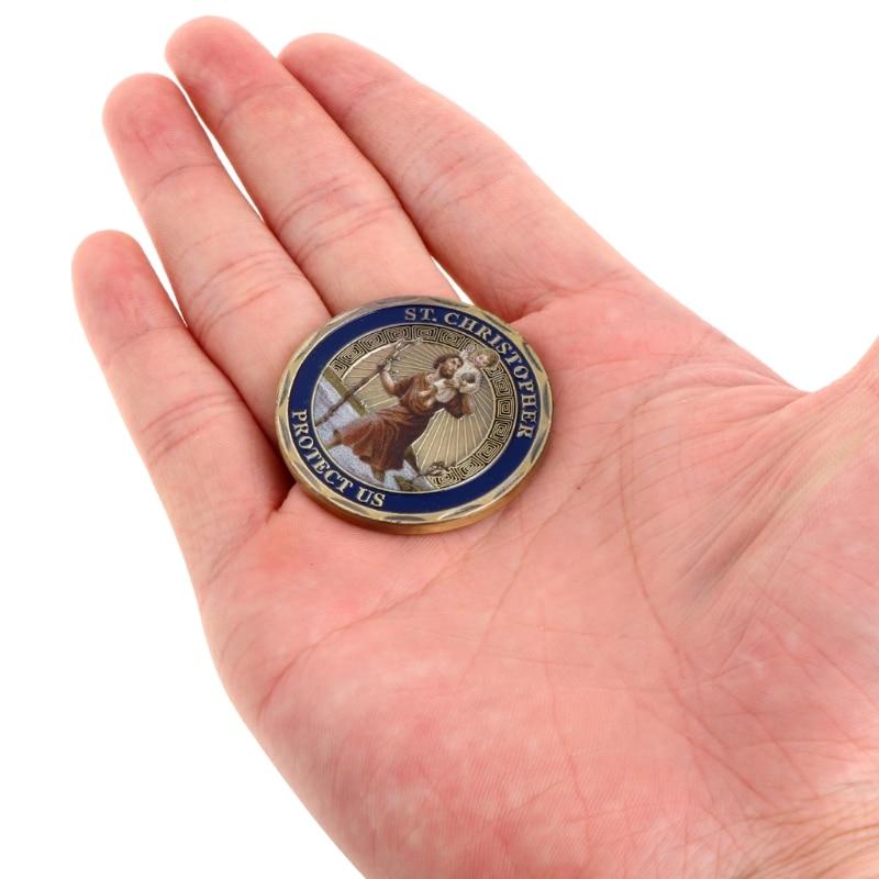 Святого Кристофера покровителем путешественников памятная монета коллекция