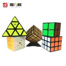 Qiyi Mofangge Magic Cube Puzzle Samolepka Professional Fidget Speed Cube 12 stran Skewb Vzdělávací hračky pro děti Dospělí