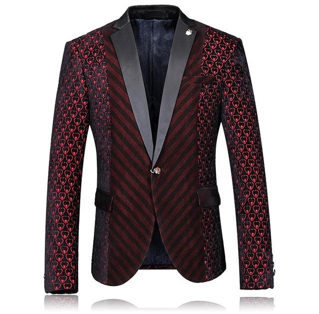 Европейский Grand Prix 2017 весной и осенью мода Тонкий мужские случайные пиджак