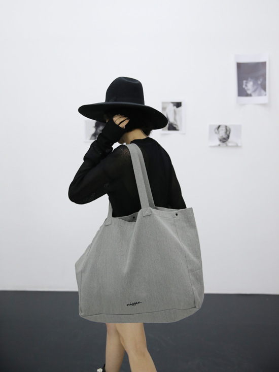 Online Shop Big Oversized Shopper Bag Women Soft Canvas Handbag ...