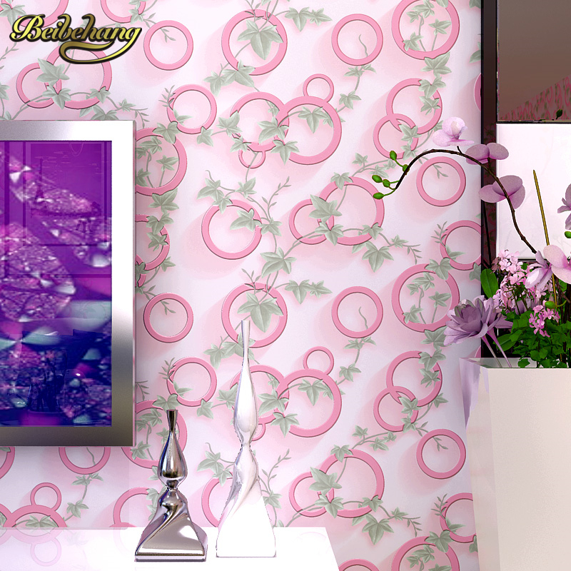 beibehang Modern minimalist Non-woven Wallpaper Black and White Circles home decor background wallcovering 3d papel de parede free shipping hepburn classic black and white photographs women s clothing store cafe background mural non woven wallpaper