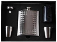 6OZ High Quality Thicken Stainless Steel Material Hip Flask Diverse Styles Portable Box Hip Flask Suits