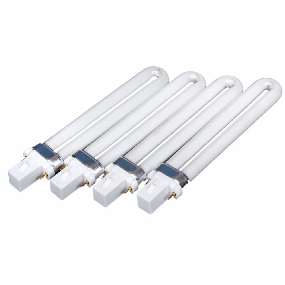 Nail UV Lamp Manicure Nail Art White Tubes For Lamp 9W U Shape UV Lamp U-shape 2-pin For Lamp Gel Nail Dryer 365nm DryerNail UV Lamp Manicure Nail Art White Tubes For Lamp 9W U Shape UV Lamp U-shape 2-pin For Lamp Gel Nail Dryer 365nm Dryer