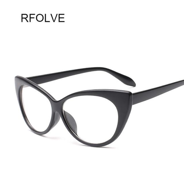 RFOLVE Sexy Cat Eye Sunglasses Mulheres Marca Óculos de Sol Para As Mulheres  Óculos Ladies Shades 99439c5435
