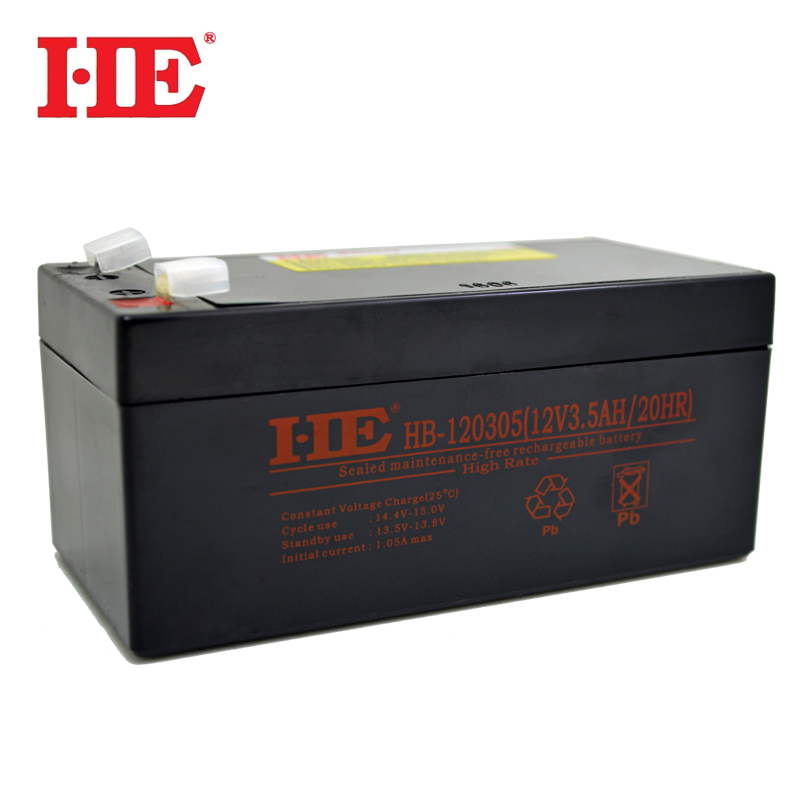 HE <font><b>12V</b></font> 3.5AH rechargeable storage acid lead <font><b>battery</b></font> ups solar system <font><b>battery</b></font> 134*67*60mm replace 3.<font><b>3AH</b></font> 3.2AH <font><b>3AH</b></font> image