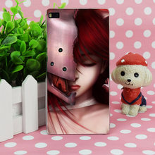 B1115 Elfen Lied Lucy Art Girl Hair Face Transparent Hard Thin Case Skin Cover For Huawei P 6 7 8 9 Lite Plus Honor 6 7 4C 4X G7(China)