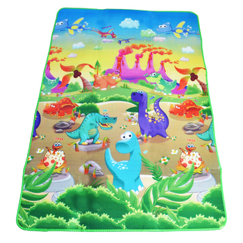 Double Sided Baby Play Mat Dinosaur Printed Toys for Children Carpet Soft Floor Kids Crawling Mat Rugs Baby Game Gym Activity