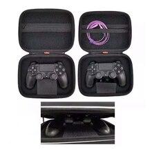 ใหม่ร้อนขายกระเป๋าถือพกพากระเป๋าป้องกันกระเป๋ากรณีHardสำหรับSony PlayStation 4 PS4 Wired Controller