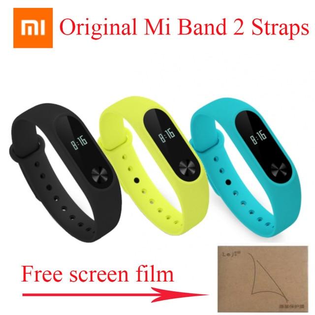 100% Original Xiaomi mi band 2 Strap Belt Silicone Colorful Wristband for Mi Band 2 Smart Bracelet for Xiaomi Band 2 Accessories watch band wrist band wristband women men bracelet double color silicone strap smart wristband bracelet for xiaomi miband 2 p5