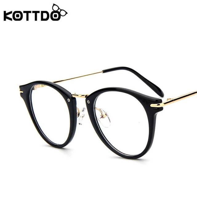 c547638440 placeholder KOTTDO Women s Retro Eye Glasses Frame Vintage Optical Reading  Spectacle Glasses Frame Men Women With Clear