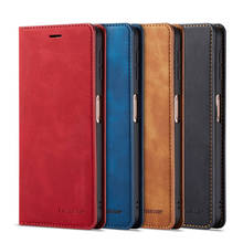 Leather Case For Samsung Galaxy A50 Cover Glossy Protector Capa Magnetic Hoesje A30 A70 Fundas Etui