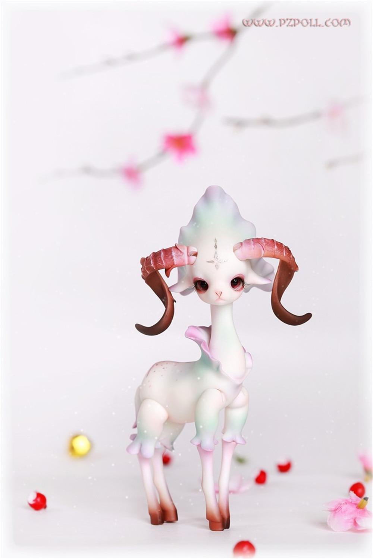 ФОТО stenzhorn(stenzhorn) BJD Doll DZ / Sheep / Big Dipper / Eyes BJD Doll Naked Send Antelope Free Shipping