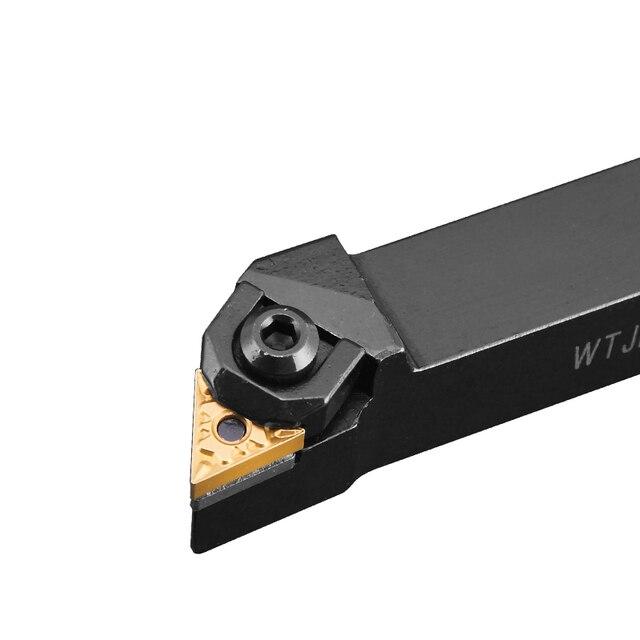 WTJNR/WTJNL 16mm 20mm 25mm 32mm External turning เครื่องมือ CNC เครื่องกลึงโลหะ