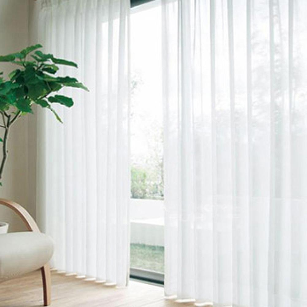 Aliexpress Com Buy Children Room Divider Kitchen Door Curtains Pastoral Floral Window: Popular White Sheer Curtains-Buy Cheap White Sheer
