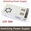 12 В 30A 360 Вт адаптер импульсный источник питания светодиодные полосы света трансформатора 12 В для 3d части принтера U103