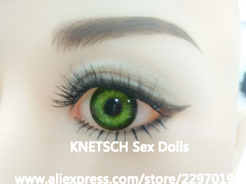 <font><b>Sex</b></font> <font><b>Doll</b></font> Eyes, Difference Eyes Color For Real Silicone <font><b>Sex</b></font> <font><b>Dolls</b></font>, TPE Sexy <font><b>Doll</b></font>, Love <font><b>Dolls</b></font> Can Fit For 100cm to <font><b>175cm</b></font> Body image