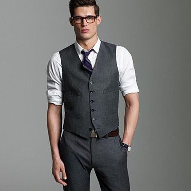 Aliexpress.com : Buy 2017 Wedding men suit single Breasted Dark ...