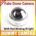 Беспроводной Поддельные Манекена Камеры СВЕТОДИОД Наблюдения Камеры Безопасности