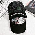 [DRESSUUP] Мужчины Женщины Бейсболка Star Wars Snapback Пара Спортивные Хип-Хоп Шапки Качество Хлопка Caps Bone трамп шляпы