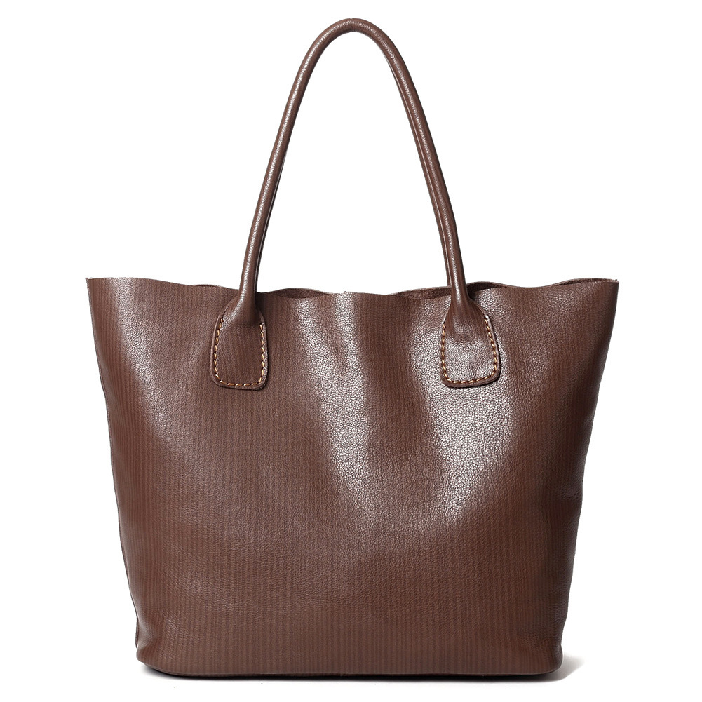 Genuine Leather Handbags Women Big Tote Female Fashion Designer High Quality Office Ladies Shoulder Bags Bolsa Feminina Bolsos women genuine leather handbag brown ladies shoulder bags high quallity female tote purses handbags designer brand bolsa feminina