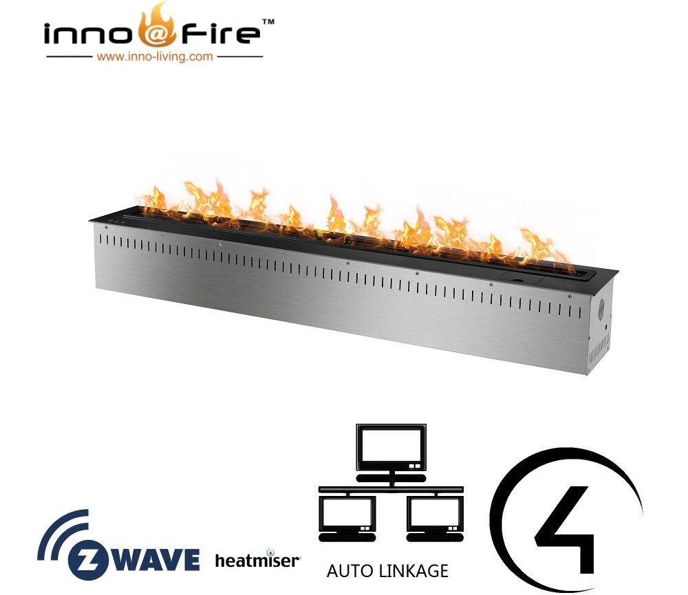 Inno Living Fire 72 Inch Bio Ethanol Cheminee Remote Burner Insert Etanol