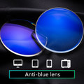 Prescription lenses Resin Lens Hyperopia Myopia Antireflective Radiation Protection Computer Anti-blue light Optical lenses UV