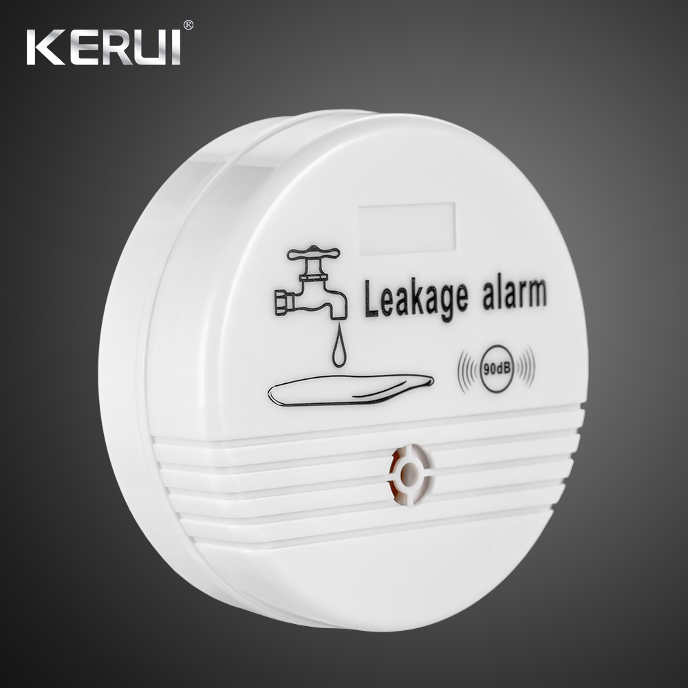 Independent Wireless Water Leakage  Water leak Sensor 90 dB Volume Water Leak Alarm for Home Kitchen Toilet Floor Detector 1