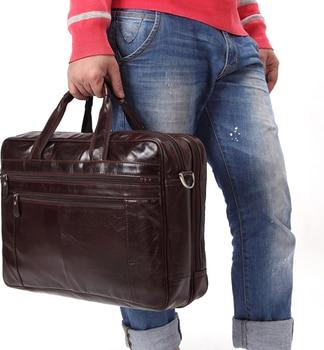 2020 New Men Genuine Leather Travel Shoulder Bag Cowhide Business Luggage Handbag Bussiness Commuter Overnight Duffle Bags D417