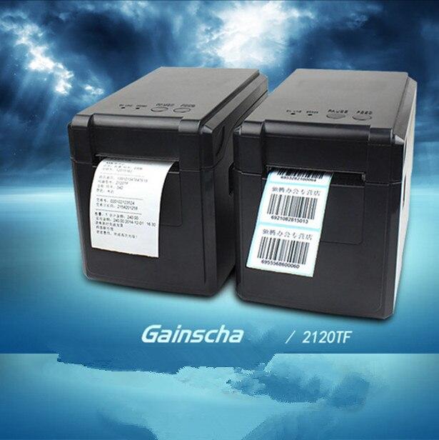 1 рулон бумаги для этикеток + Новый Release2120TF Bluetooth версии принтер штрих-кодов/наклейки этикетки/тепловой бренд одежды