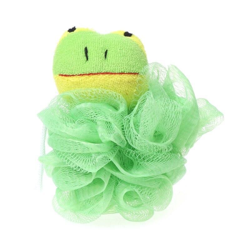 Baby Bathing Puff Brush Cartoon Ball Scrubber Bathtubs Shower Sponge Rich Bubble