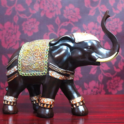 Thai elephant puts a Thai home decoration craft Southeast Asian style creative gift wedding giftThai elephant puts a Thai home decoration craft Southeast Asian style creative gift wedding gift