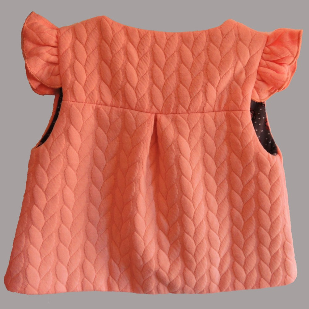 Yeni 2019 Bahar Baby Girl Pambıqlı paltarları qolsuz Gözəl - Uşaq geyimləri - Fotoqrafiya 6