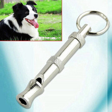 1pcs New Arrival Key chain Whistle Sound Pet  55mm Dog Training Adjustable High Quality