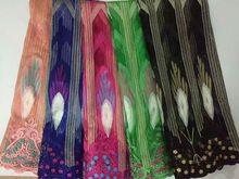 2017 Wholesale African French Lace Fabric High Quality African Tulle Lace Fabric For Party Dress Lace Black Guipure Lace Fabric