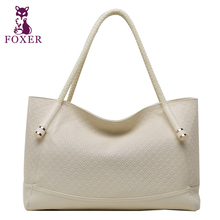 FOXER Brand New Women's leather Handbag Women Shoulder bag