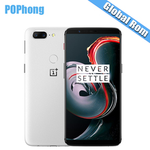 Oneplus 5T 8GB RAM 128GB ROM Android 7.1 Mobile Phone Snapdragon 835 Octa Core NFC Full Optic AMOLED Dash Charger S