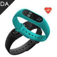 Original Xiaomi MiBand 2 Smart Wristbands IP67 Waterproof Heart Rate Monitor Smart Bracelet OLED Touch MiBand2 Fitness Tracker