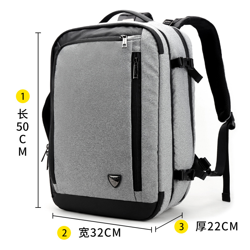 Initiative Mens Business Casual Can Hold 17 Inch Computer Bag Large Capacity Detachable Travel Bag Business Trip Multifunctional Backpack Structural Disabilities Luggage & Bags Backpacks