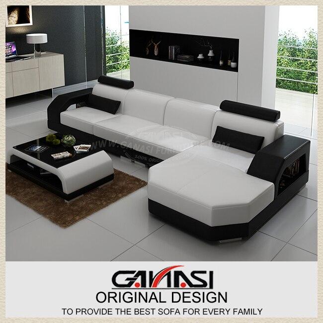ganasi sofs para sala de estar diseo moderno sof de cuero muebles para el hogar clsico en sofs de sala de estar de muebles en