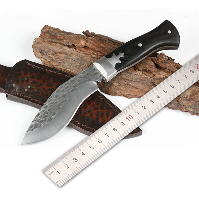 Free shipping Forging high hardness straight <font><b>knife</b></font> outdoor <font><b>wilderness</b></font> survival <font><b>knife</b></font> self-defense portable diving <font><b>knife</b></font> image