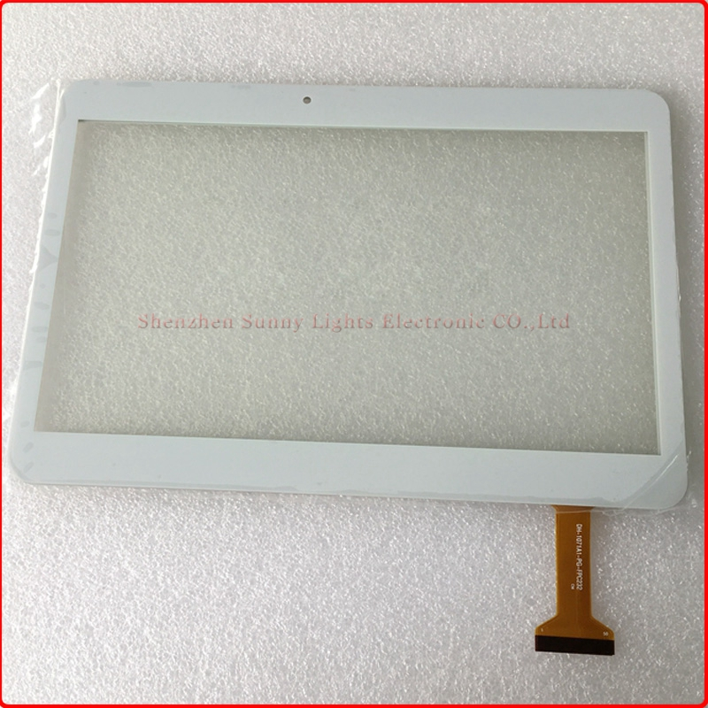New 10.1'' inch Tablet Capacitive Touch Screen Replacement For DH-1071A1-PG-FPC232 Digitizer External screen Free Shipping 10pcs lot free shipping 9 inch flat panel touch screen cn057 fpc v0 1 capacitive screen handwriting external screen