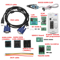 RT809F Display LCD Clipe De Teste 1.8 v Adaptador Programador ISP Módulo Com SOP8 TSSOP8/SSOP8 10 Adaptadores