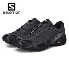 ef03c655cda Salomon Sapatos Homens Velocidade Cruz 4 CS Cross-country Running Shoes  Tênis Masculino Athletic Shoes