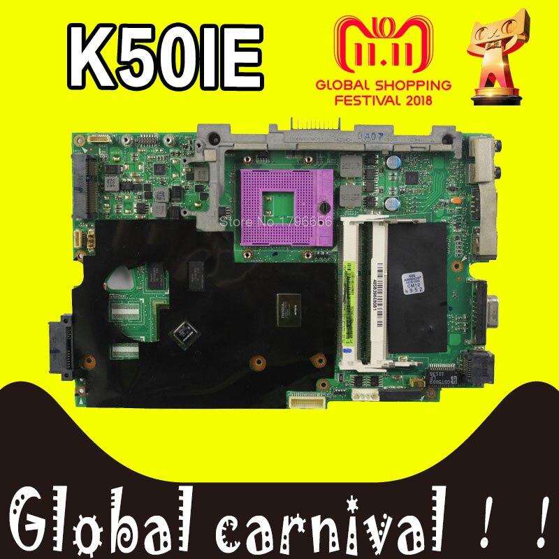 K50IE Motherboard 512M RAM For ASUS K50IE X5DI K50ID K40ID laptop Motherboard K40IE Mainboard K50IE Motherboard test 100% OK k50id 1gb 8 memory motherboard for asus x5di k50ie k50i k50id laptop mainboard rev 3 2 ddr3 100