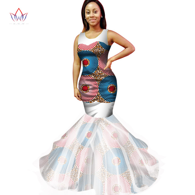 African Print Dresses Wrap Dress Dashiki African Print Sleeveless