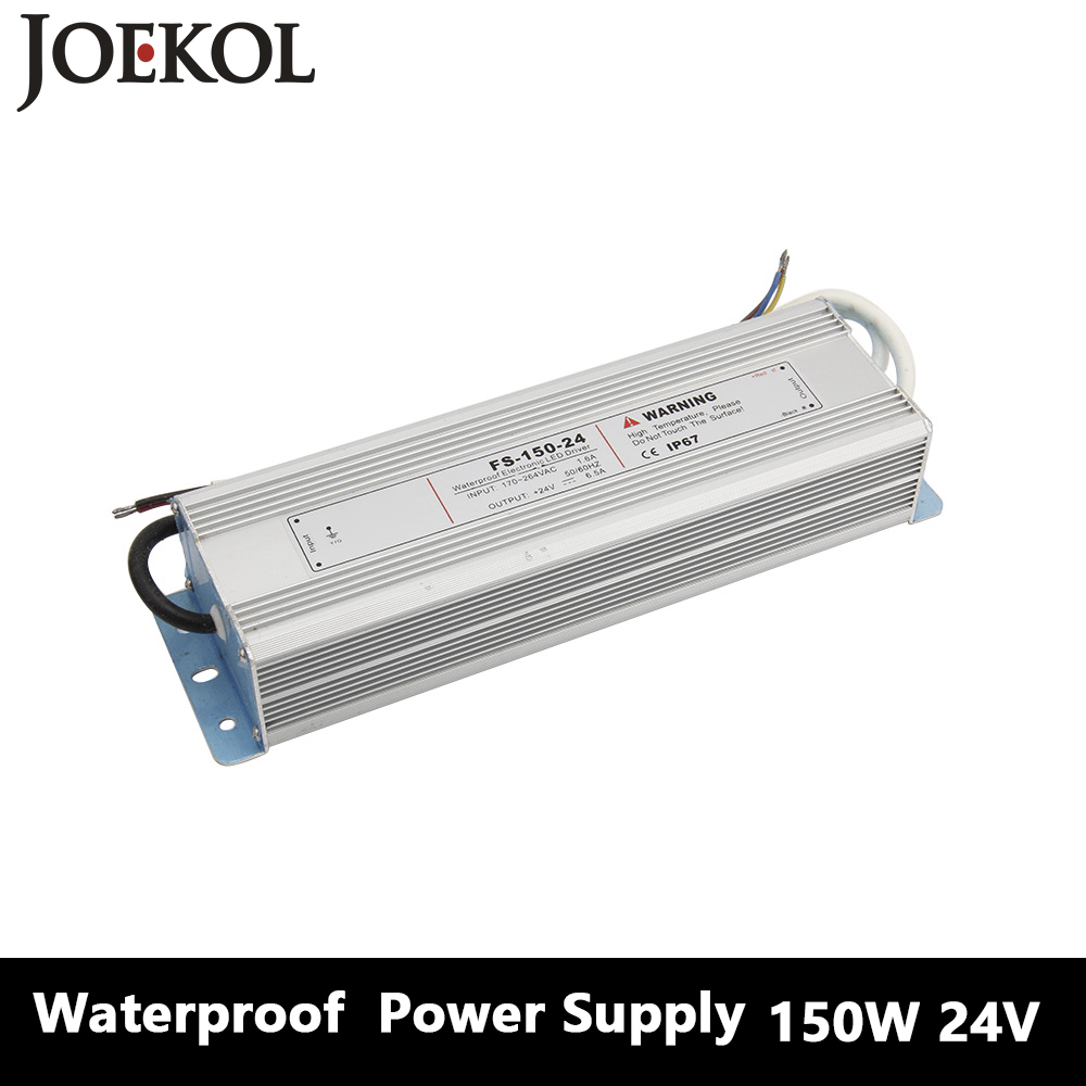 Led Driver Transformer Waterproof Switching Power Supply Adapter,,AC170-260V To DC24V 150W Waterproof Outdoor IP67 Led Strip led driver transformer waterproof switching power supply adapter ac110v 220v to dc5v 20w waterproof outdoor ip67 led strip lamp