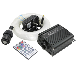 Image 2 - 16W RGBW LED fiber optic Star Ceiling Kit lights 200/300/350/450pcs *0.75mm with 2M  Optical fiber for star sky ceiling