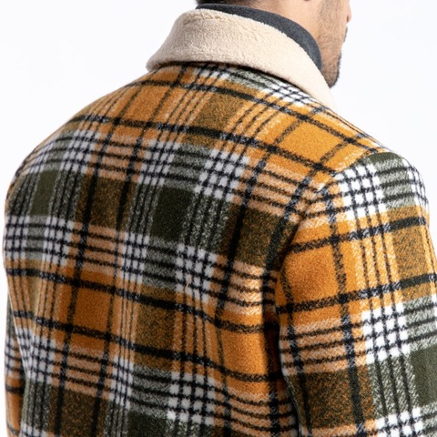 SIMWOOD 2019 Winter Men Jackets Fashion Plaid Casual Blends Jackets Warm Coats Men Outwear Brand Jacket abrigo hombre 180604 Multan
