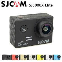 Original SJCAM SJ5000X Elite Del Deporte Cámara de Acción WiFi 4 K 24fps 2K30fps Girocompás HD 2.0 LCD NTK96660 Buceo 30 m Impermeable de Los Deportes DV