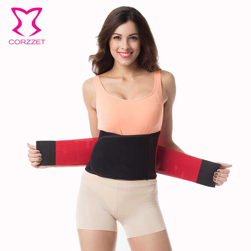 Corzzet Firm Control Tummy Belt Corsets Slim Shaper Ajustable Waist Trimmer Plus...
